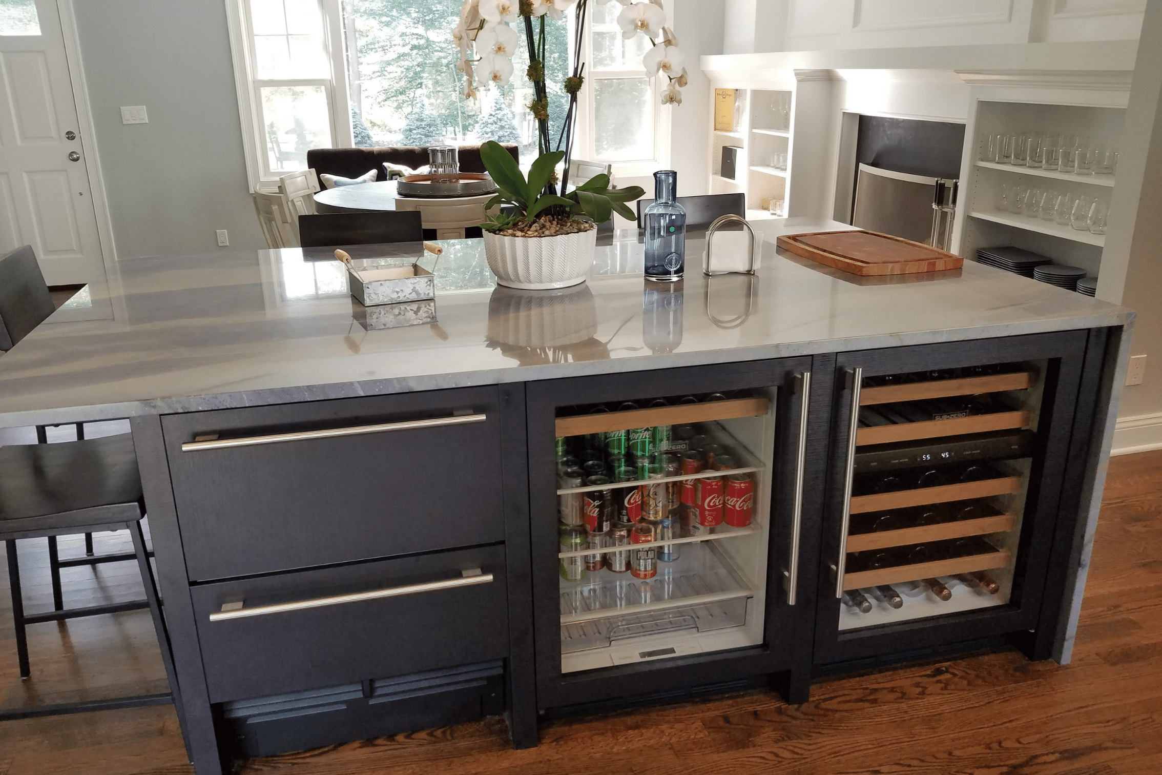 Party Island Kitchen Remodel