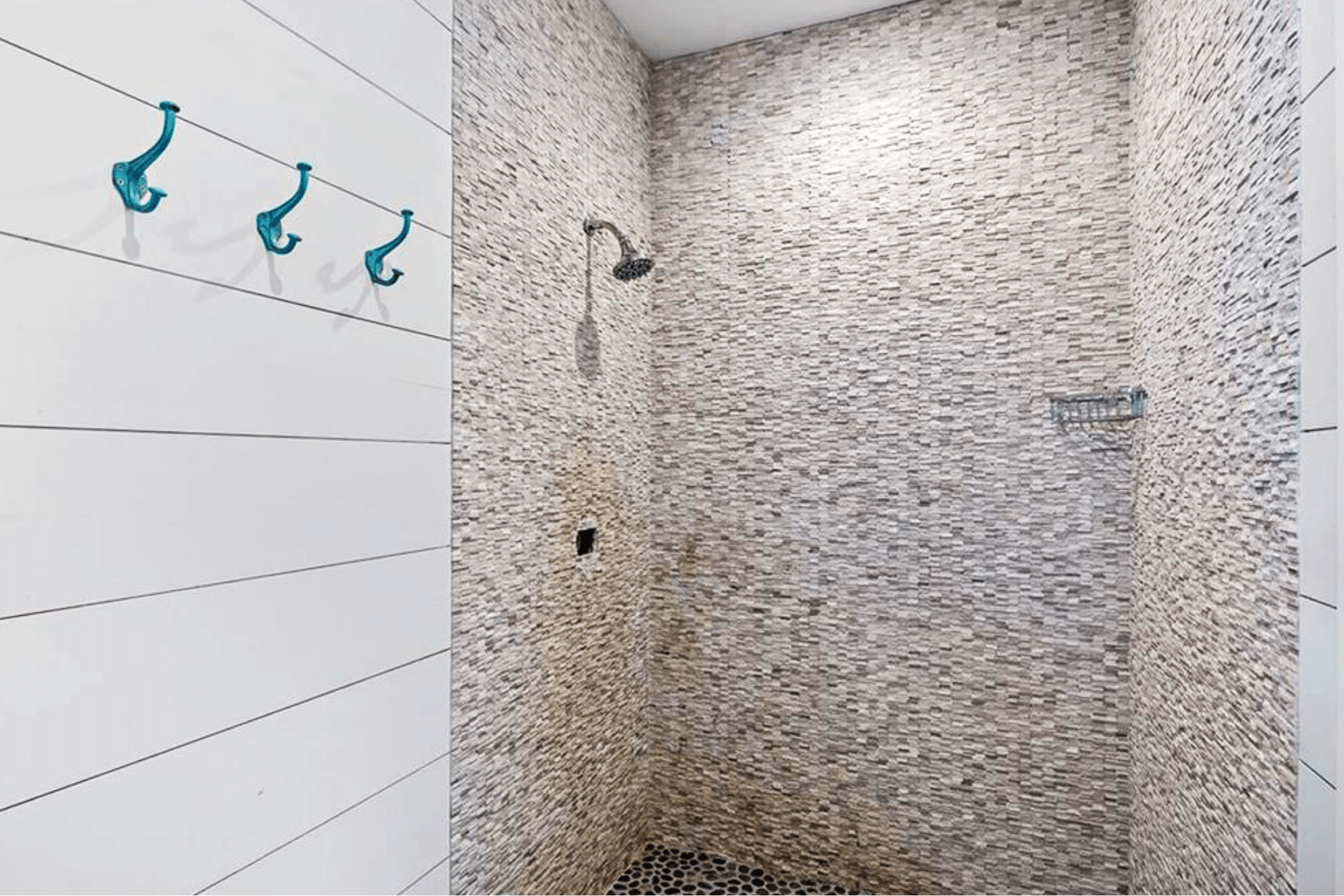 Pool House Shower