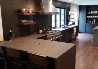 Black Matte Kitchen Remodel